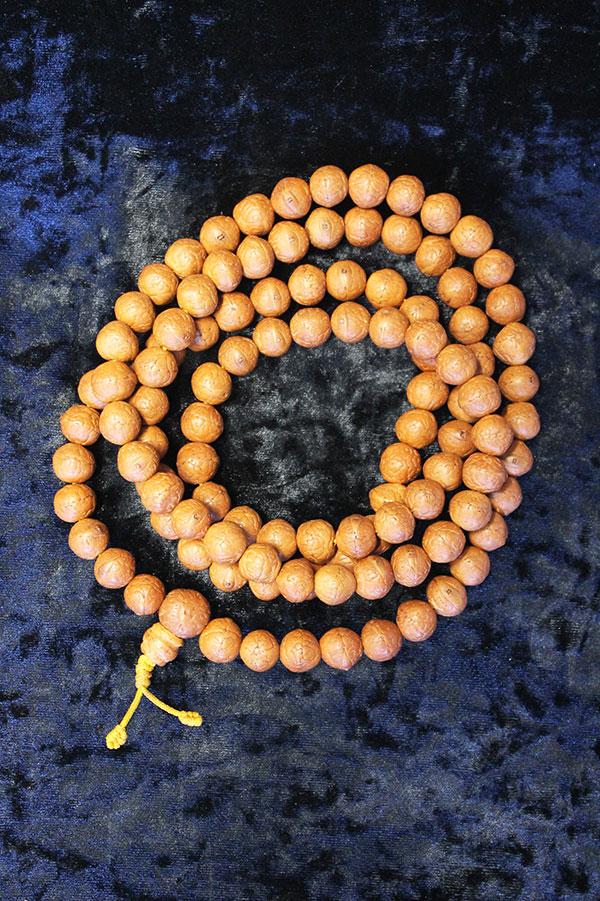 Четки из плодов бодхи 108 бусины