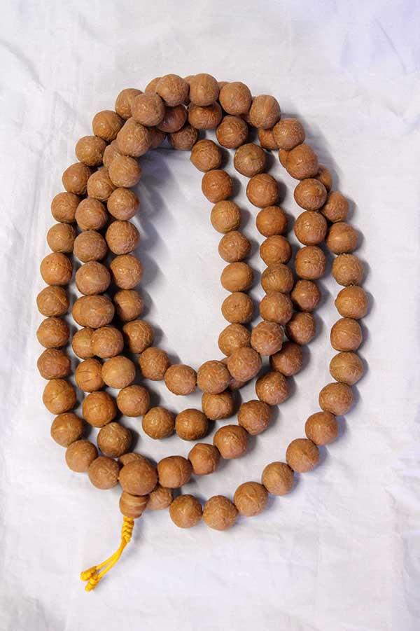 Четки из плодов бодхи 108 бусин