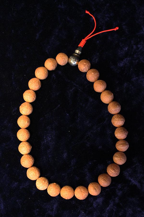 Четки из плодов бодхи 27 бусины