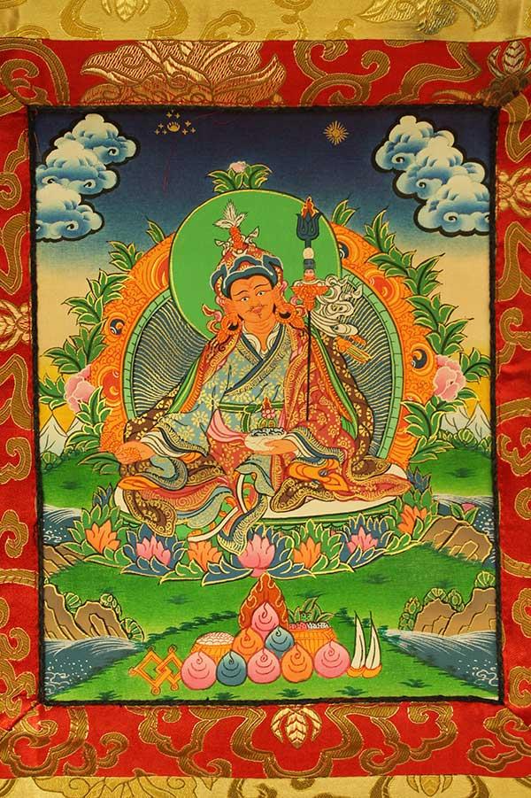 Буддийская танка Гуру Ринпоче Падмасамбхава