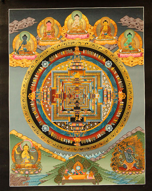 Буддийская мандала Калачакры