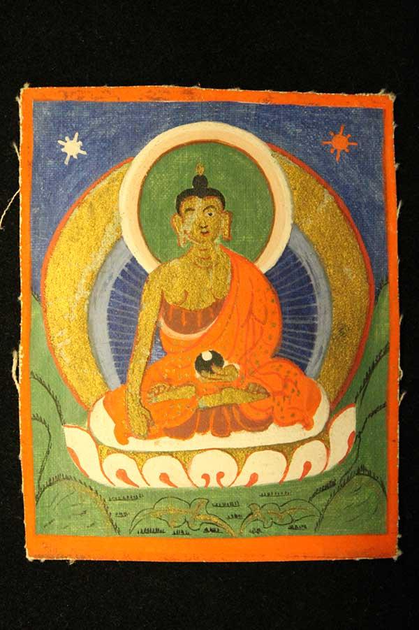 Буддийская цакля Будда Шакьямуни