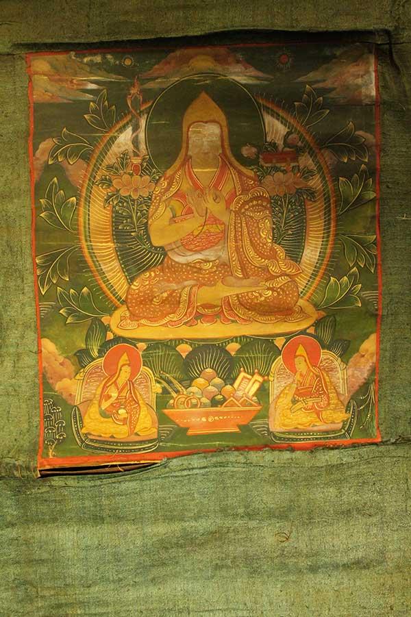 Буддийская танка Цонкапа