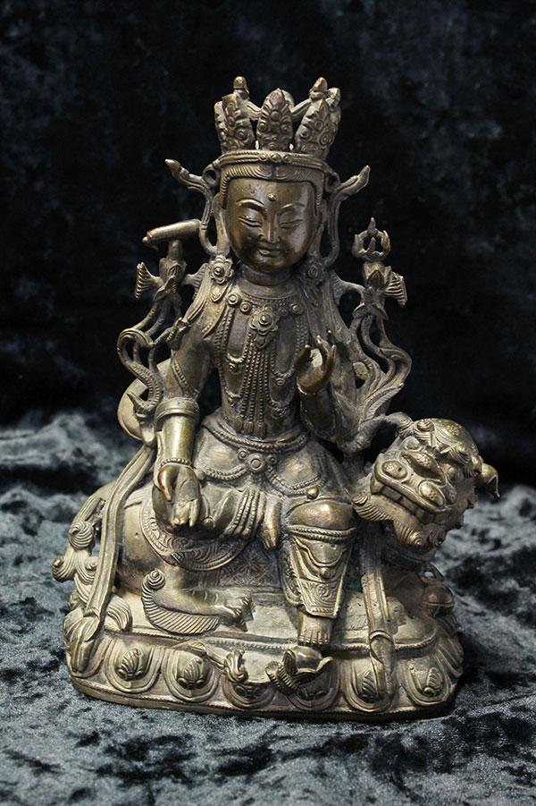 Старинная статуэтка Гуанинь 19 век