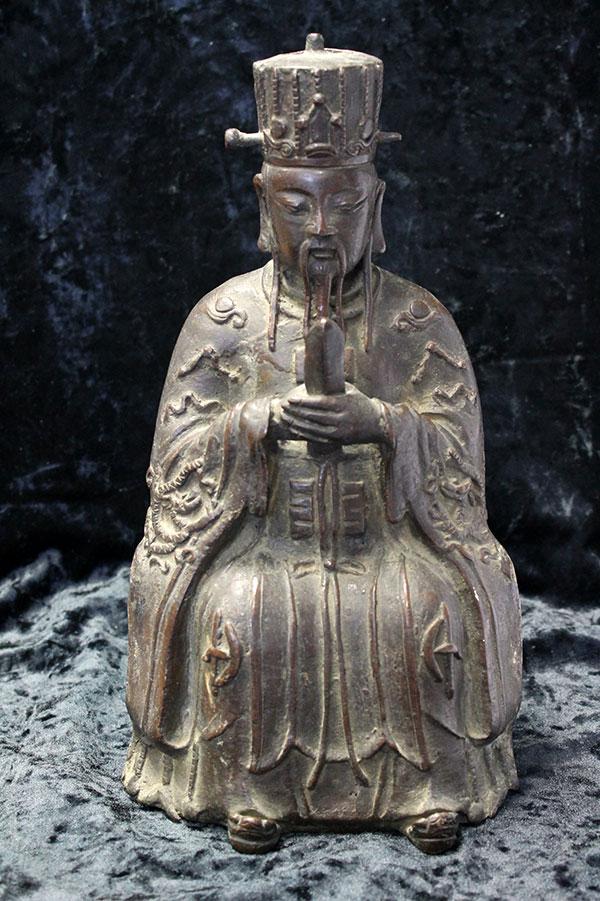Старинная статуэтка Конфуций 19 век