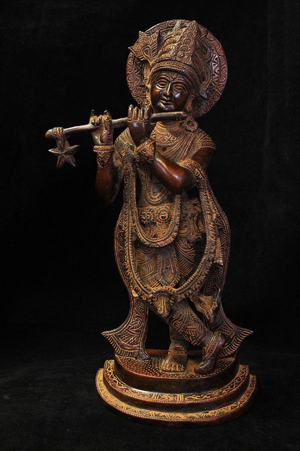 Индийская статуэтка, мурти Кришна