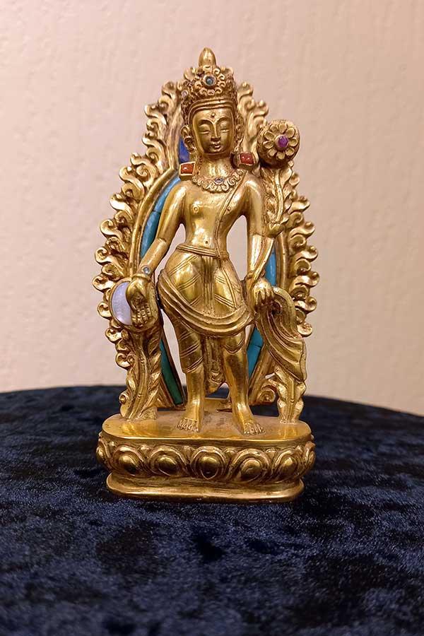 Буддийская статуэтка ЛОКЕШВАРА авторская работа