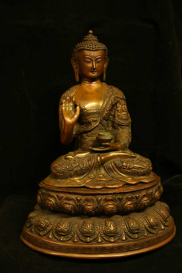 Статуэтка Будда Амогасиддхи
