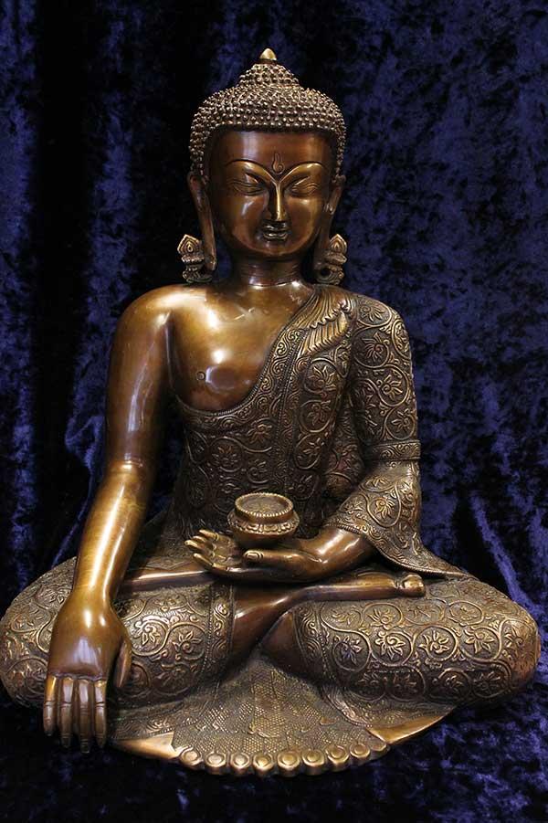 Индийская статуэтка, Будда