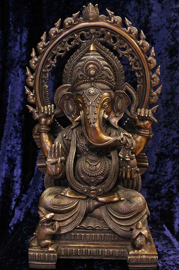Индийская статую Ганеша