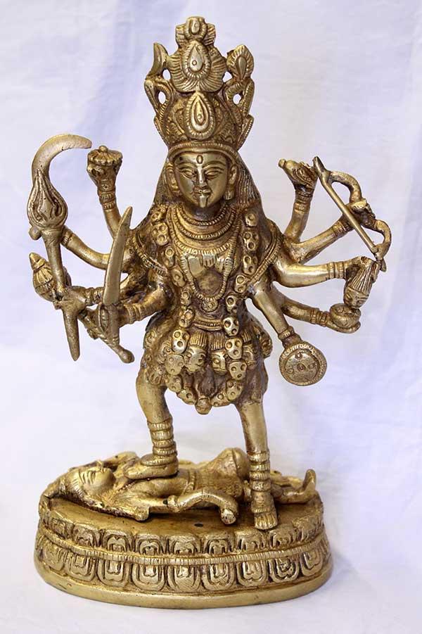 Индийская статуэтка МахаКали