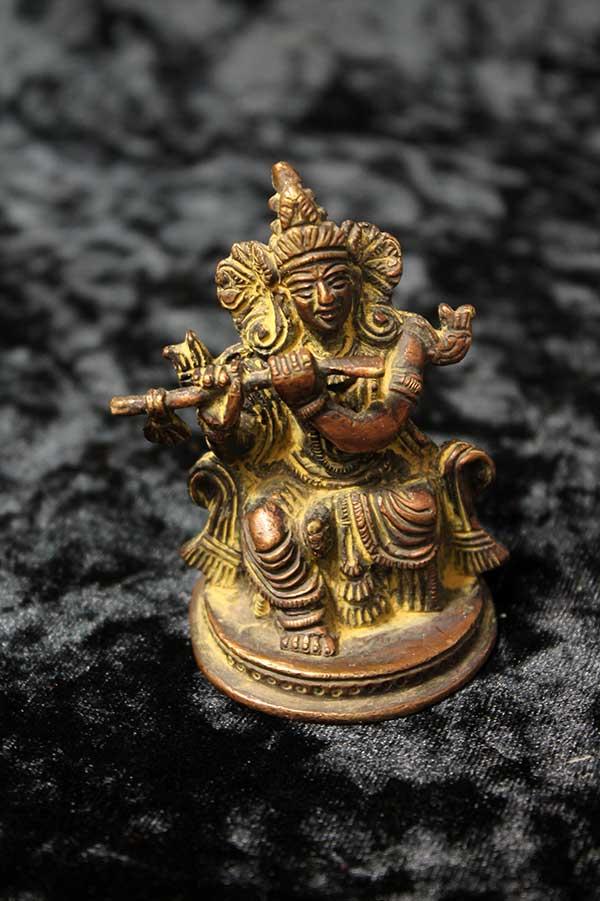 Бронзовая статуэтка, Кришна