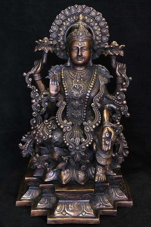 Индийская статуэтка, мурти Богиня Лакшми