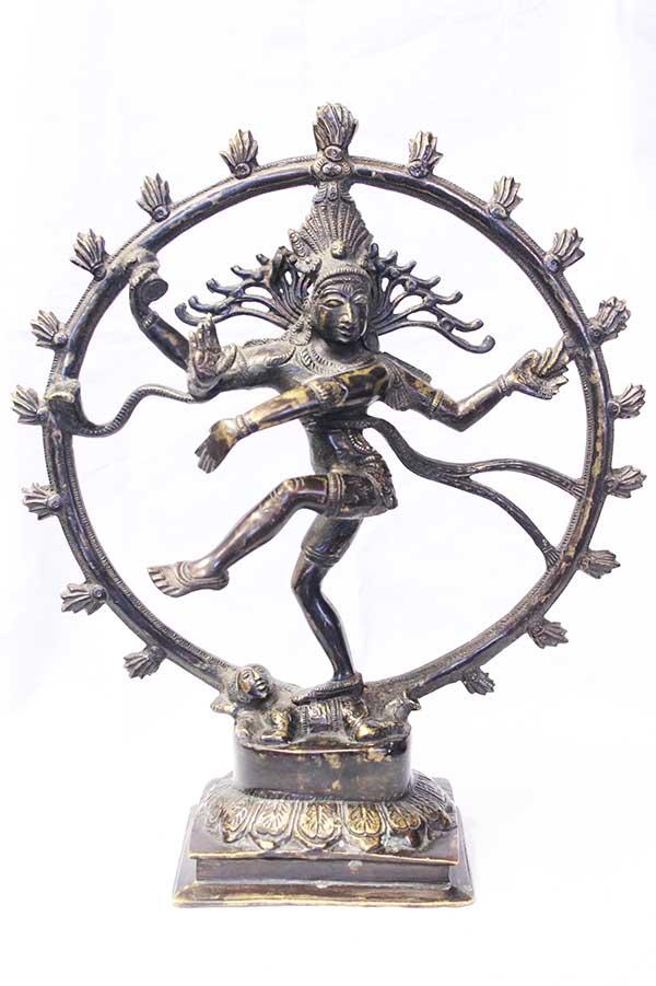 Индийская статуэтка, мурти Натарадж