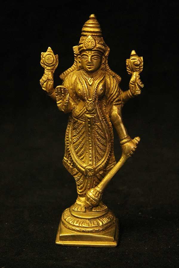 Индийская статуэтка, Вишну