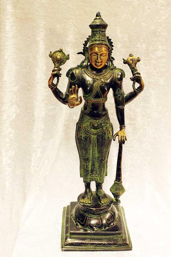 Бронзовая статуэтка, Вишну