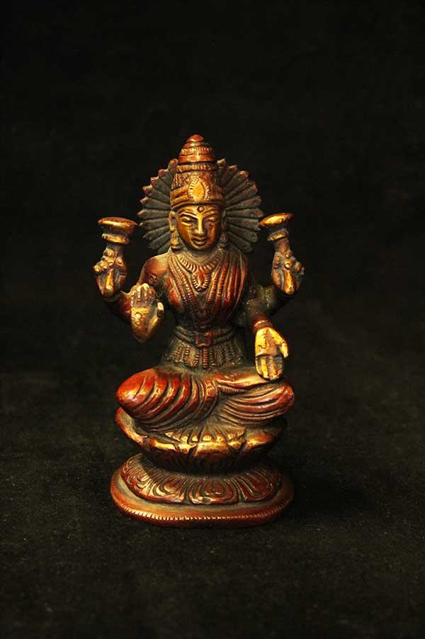 Индийская статуэтка, богиня Лакшми