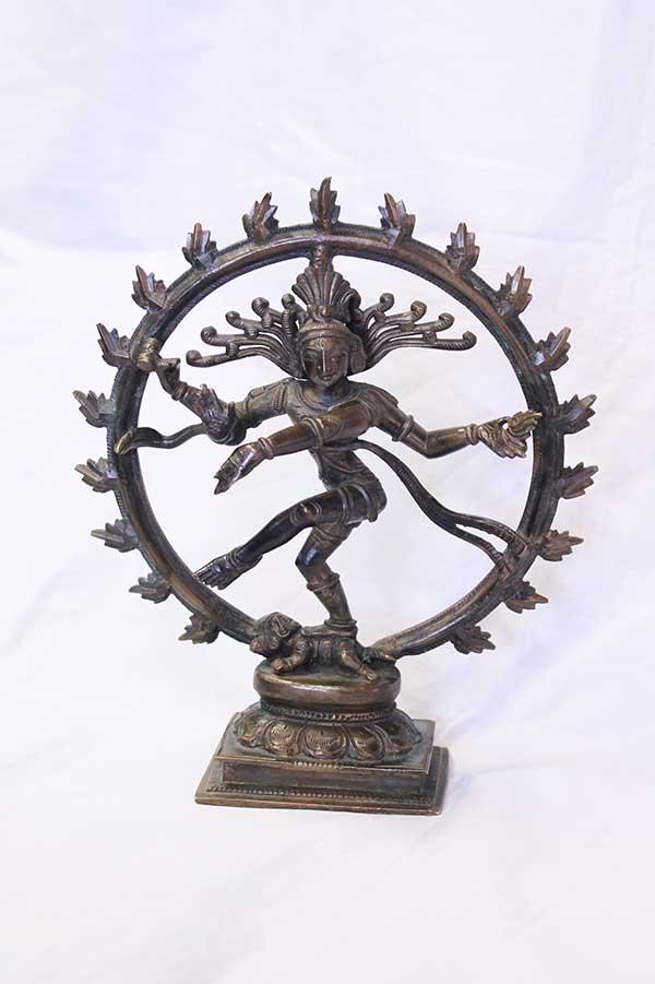 Индийская статуэтка, мурти Шива Натарадж