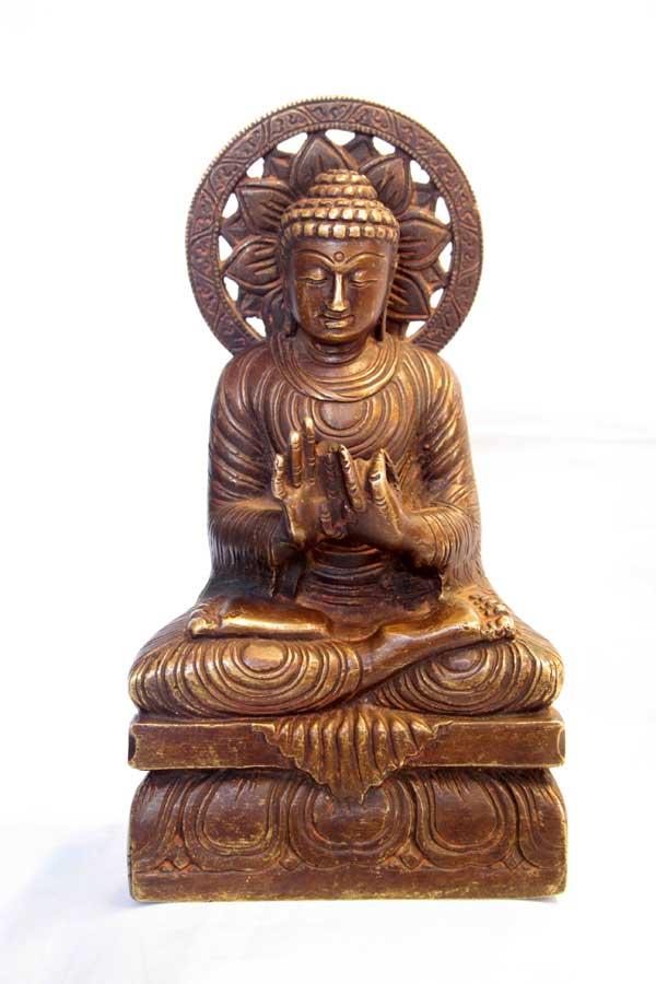 Старинная статуэтка Будда Вайрочана