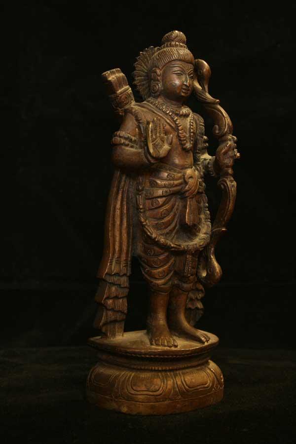 Индийская статуэтка бог Рама